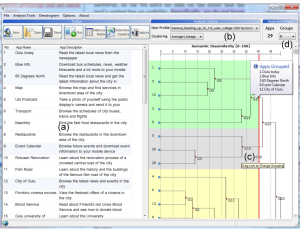 Screenshot of the AutoCardSorter tool.