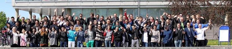Summer School 2015 attendees.