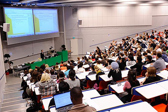 A teaching hall.