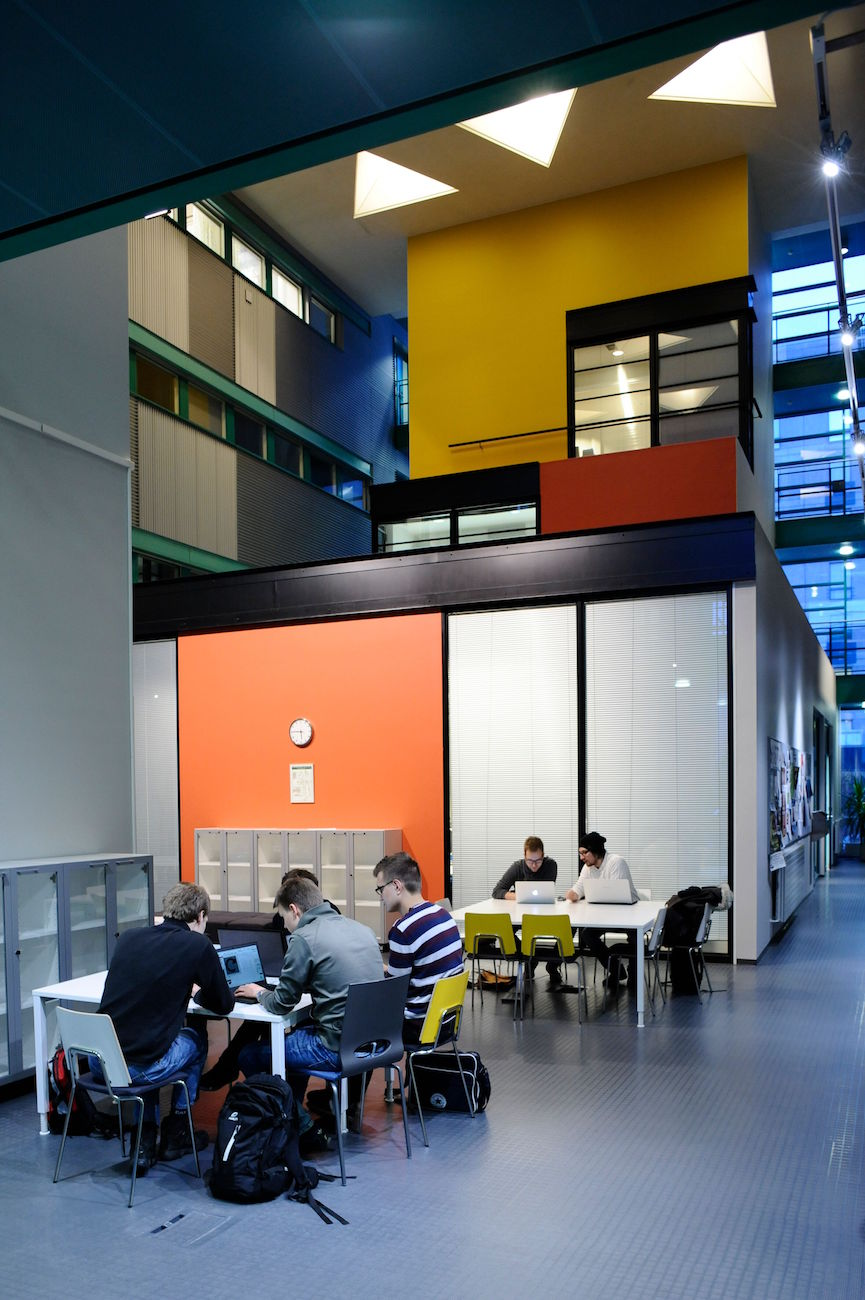 Student work spaces