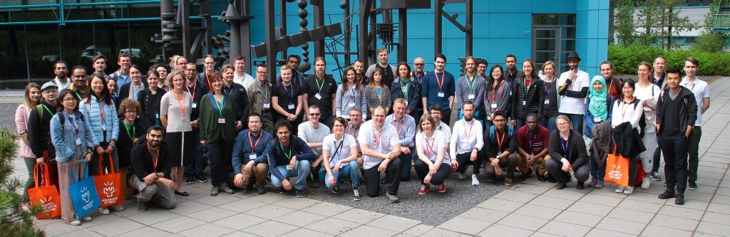 UBISS 2017 enrolled 53 students from 9 countries in 4 parallel workshops