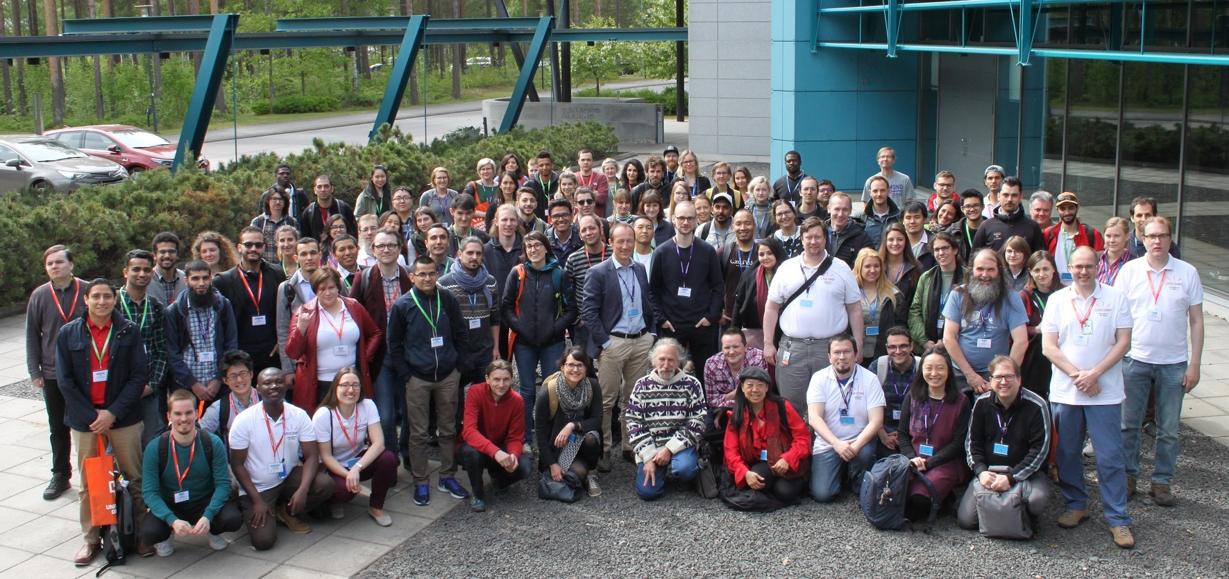 UBISS 2018 enrolled 82 students from 15 countries in 4 parallel workshops
