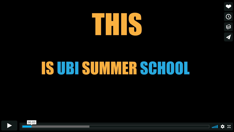 UBISS Trailer - UBISS in 67 seconds